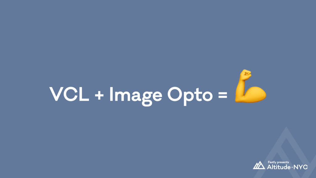 VCL + Image Opto = $