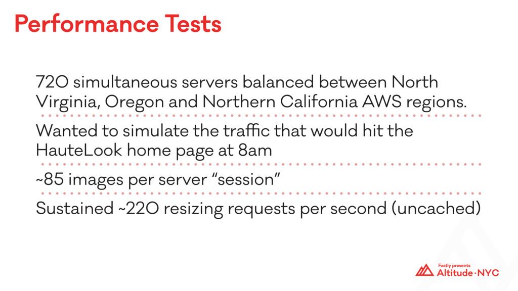 Performance Tests 720 simultaneous servers bala...