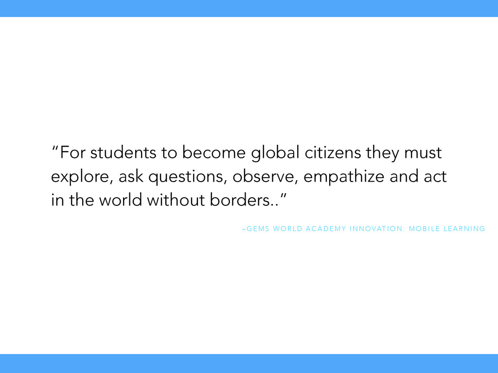 """Test Test """"For students to become global citize..."""