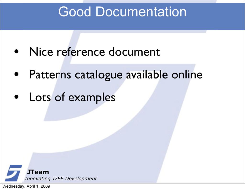 JTeam Innovating J2EE Development Good Document...