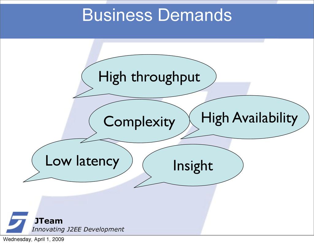 JTeam Innovating J2EE Development Business Dema...