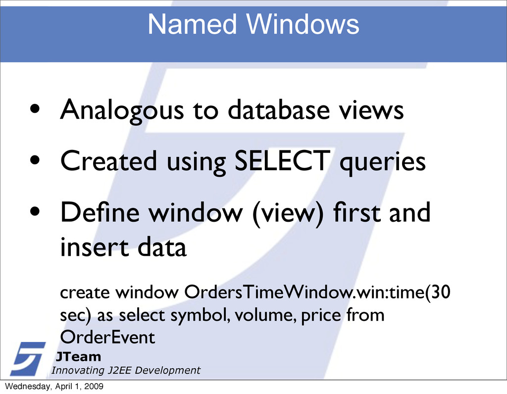 JTeam Innovating J2EE Development Named Windows...