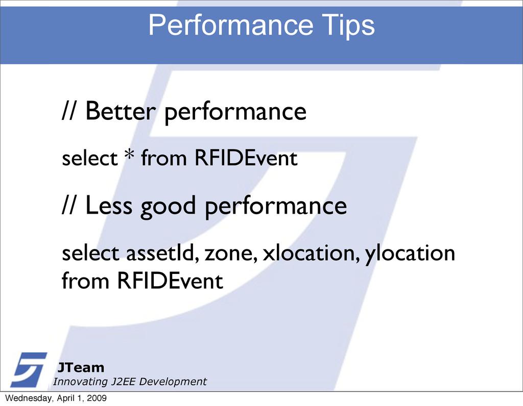 JTeam Innovating J2EE Development Performance T...