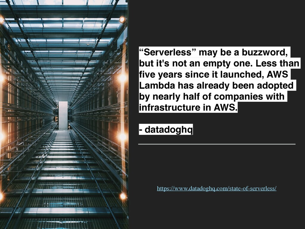 """""""Serverless"""" may be a buzzword, but it's not an..."""