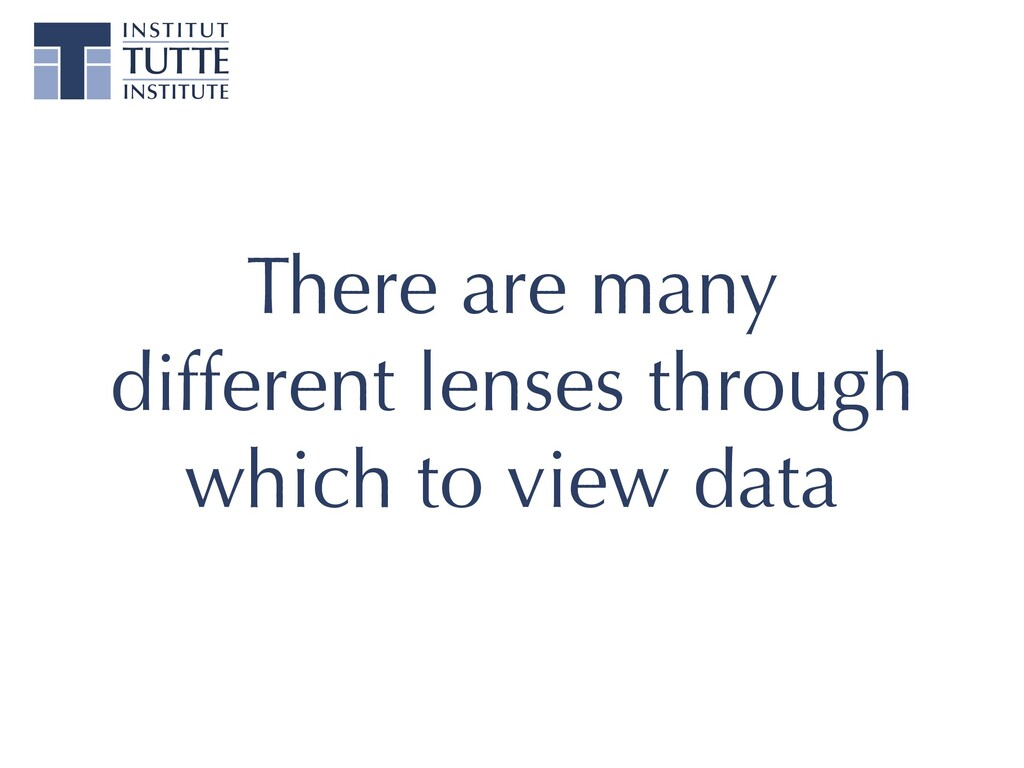 There are many different lenses through which t...