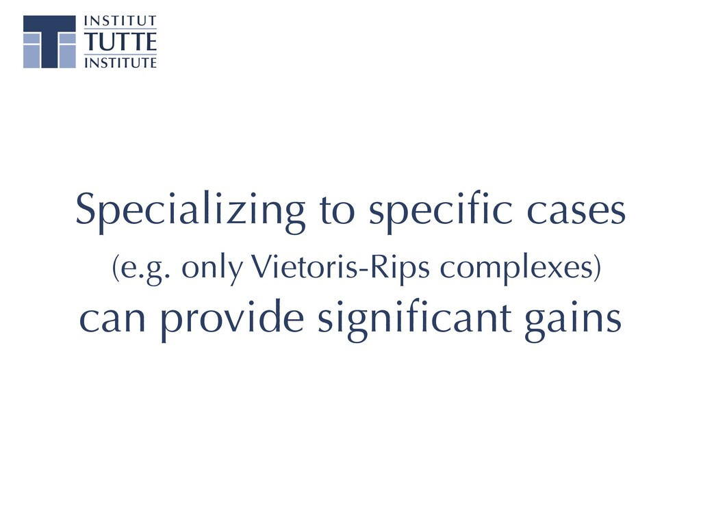 Specializing to specific cases (e.g. only Vietor...