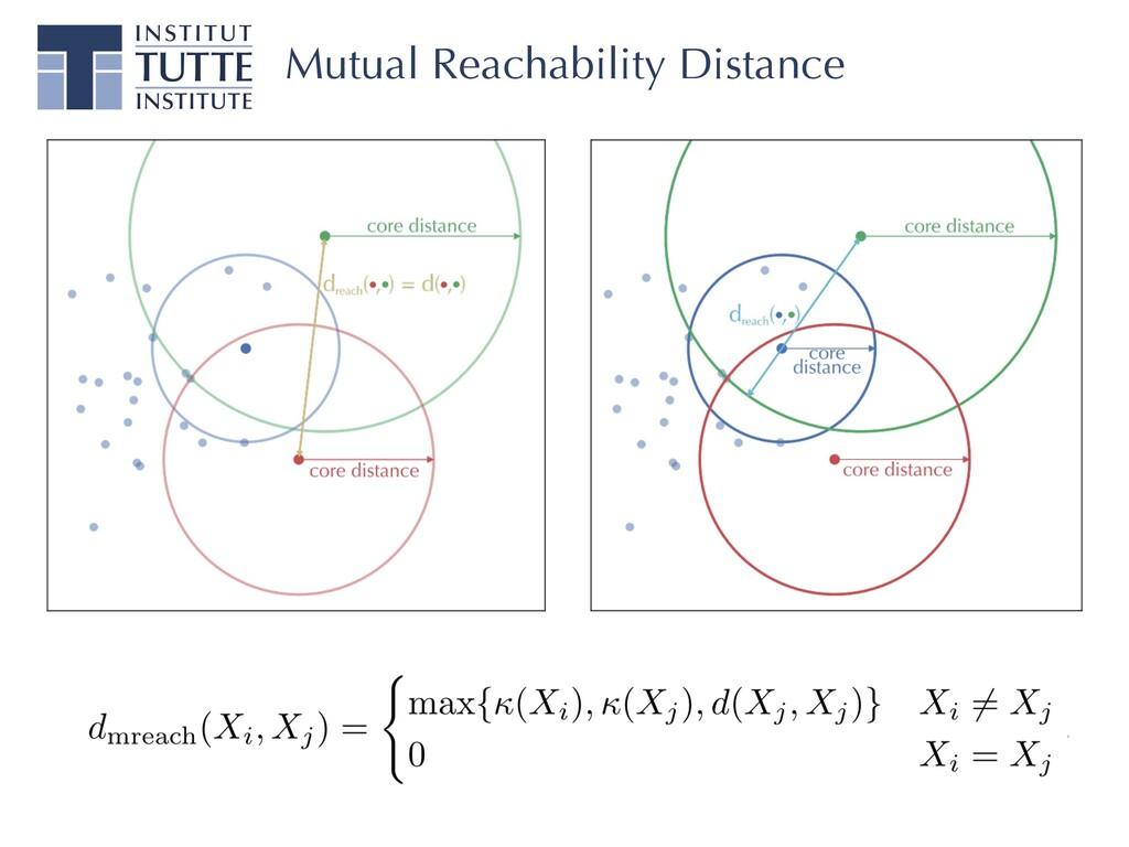 Mutual Reachability Distance