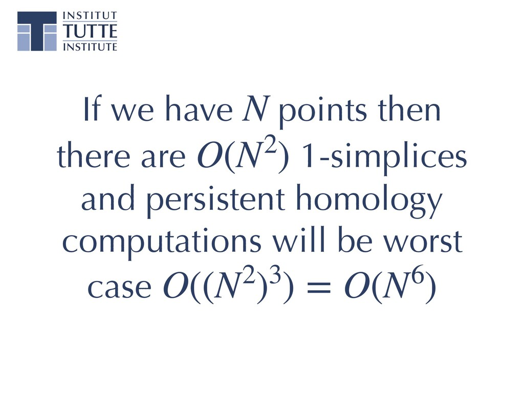 If we have points then there are 1-simplices an...