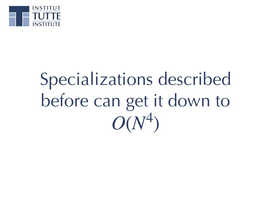 Specializations described before can get it dow...