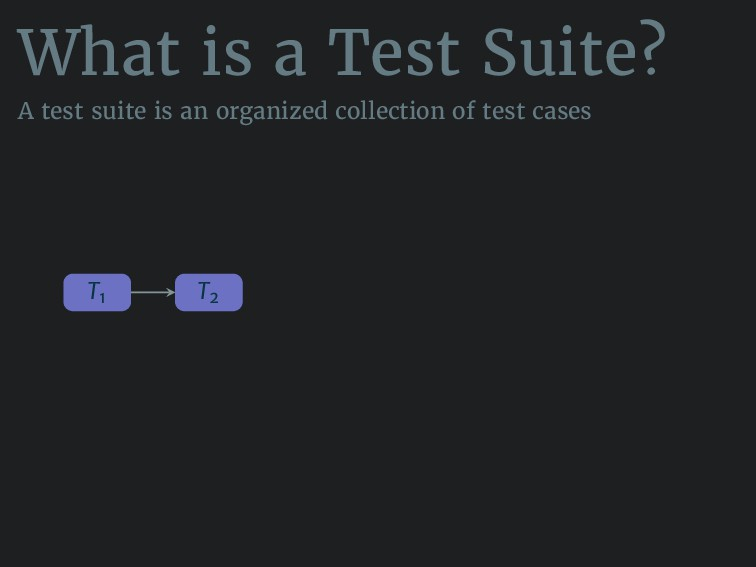 What is a Test Suite? A test suite is an organi...