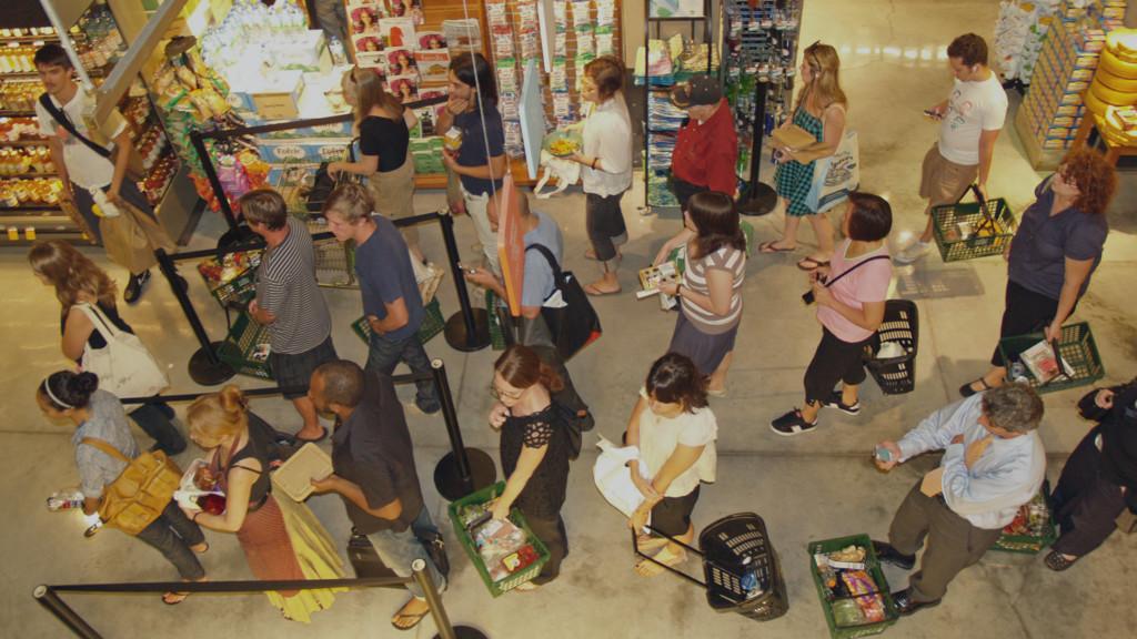 43 Picture of shop queue