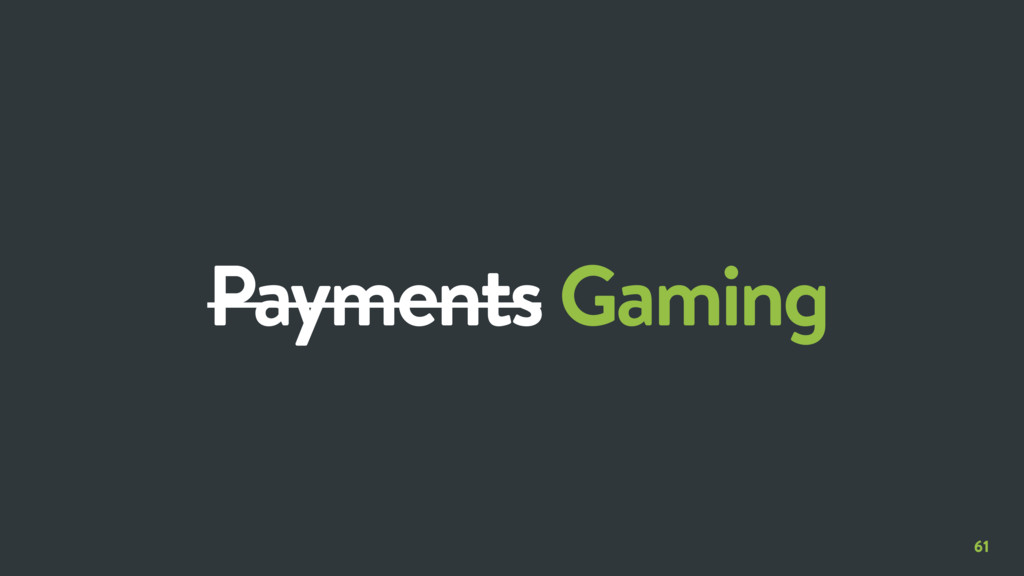 61 Payments Gaming