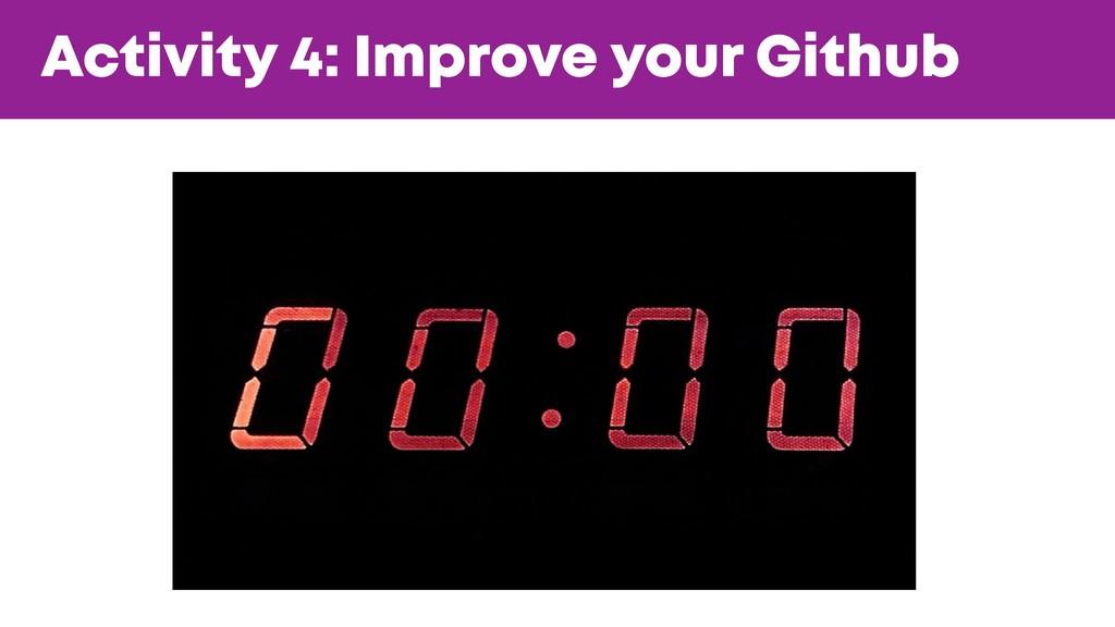 @JGFERREIRO @JGFERREIRO Activity 4: Improve you...
