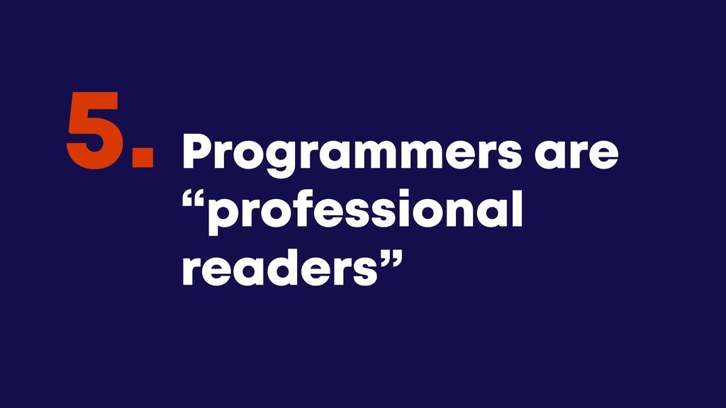 "@JGFERREIRO @JGFERREIRO Programmers are ""profes..."