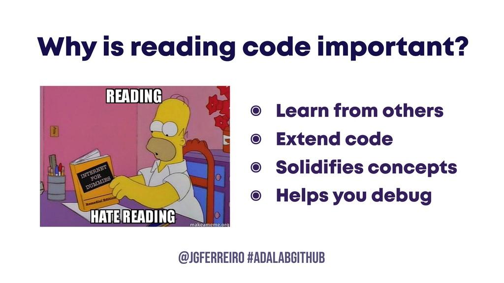 @JGFERREIRO @JGFERREIRO #ADALABGITHUB ๏ Learn f...