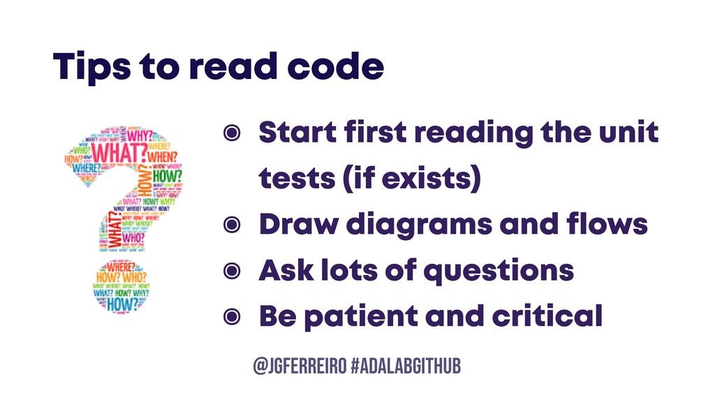 @JGFERREIRO @JGFERREIRO #ADALABGITHUB Tips to r...
