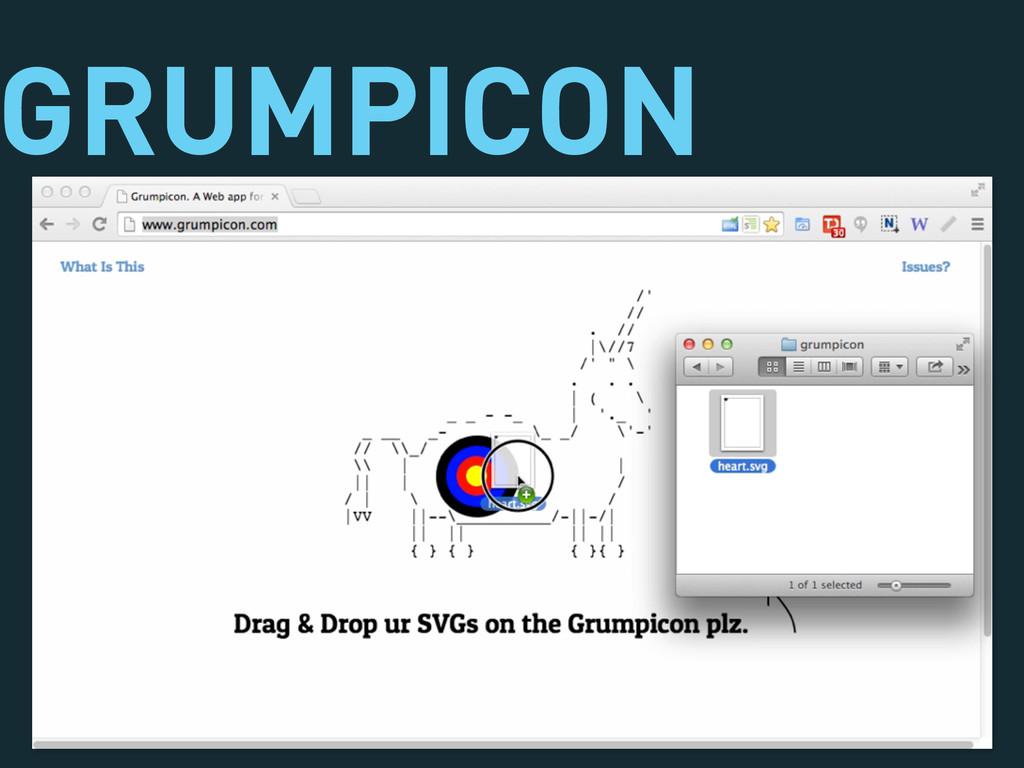 GRUMPICON