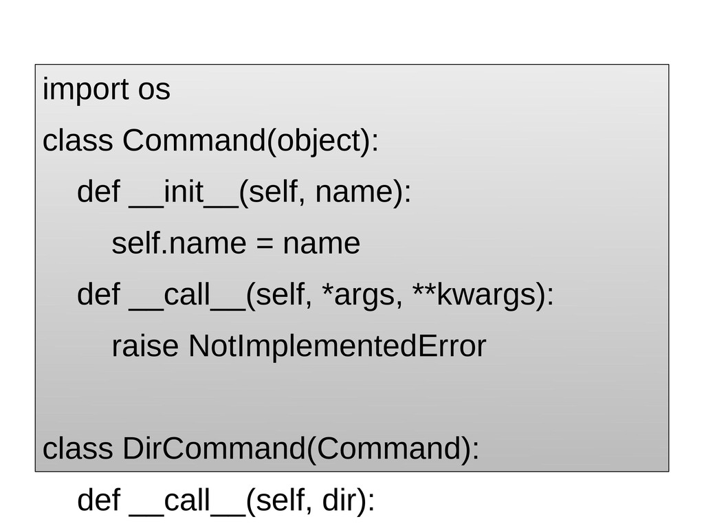 import os class Command(object): def __init__(s...