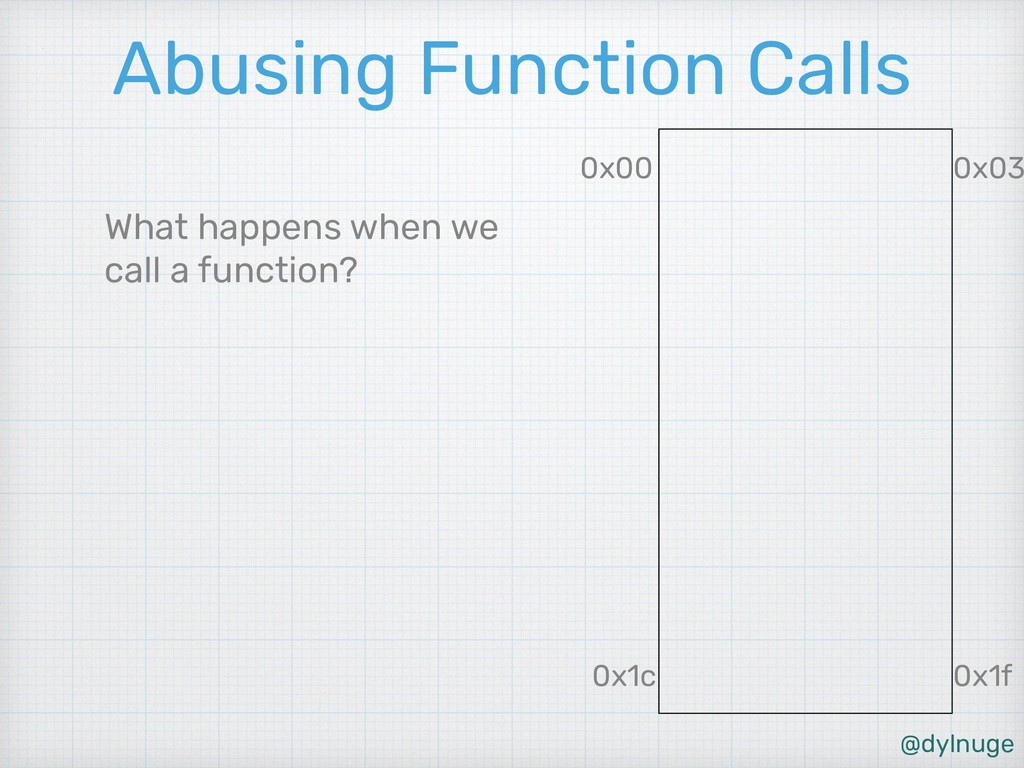 @dylnuge Abusing Function Calls What happens wh...