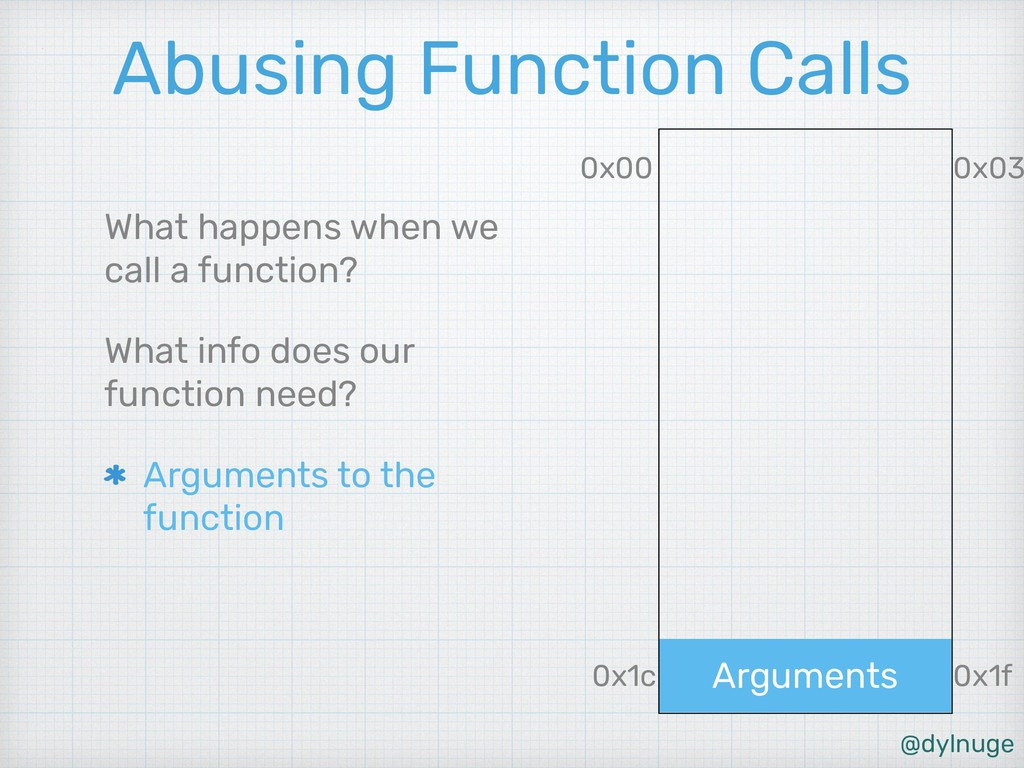 @dylnuge Arguments Abusing Function Calls What ...