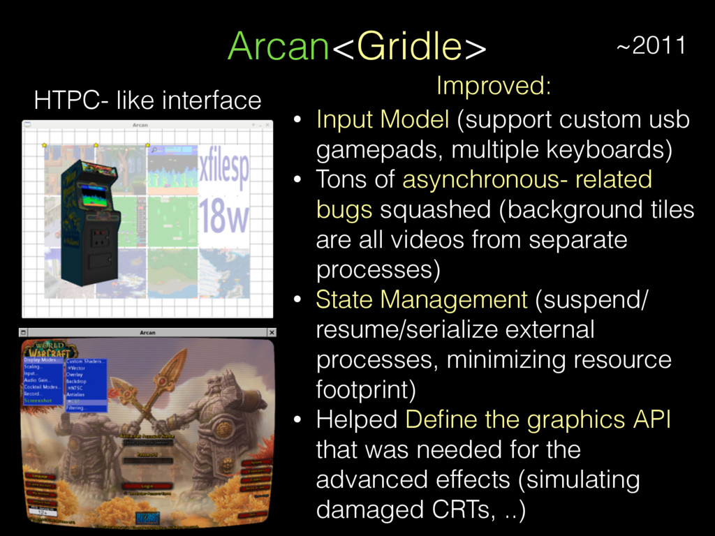 Arcan<Gridle> HTPC- like interface Improved: • ...