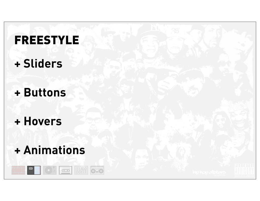 FREESTYLE + Sliders + Buttons + Hovers + Animat...