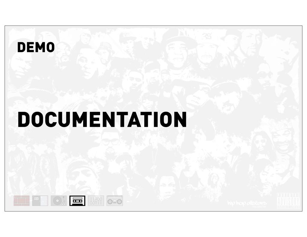 DEMO DOCUMENTATION