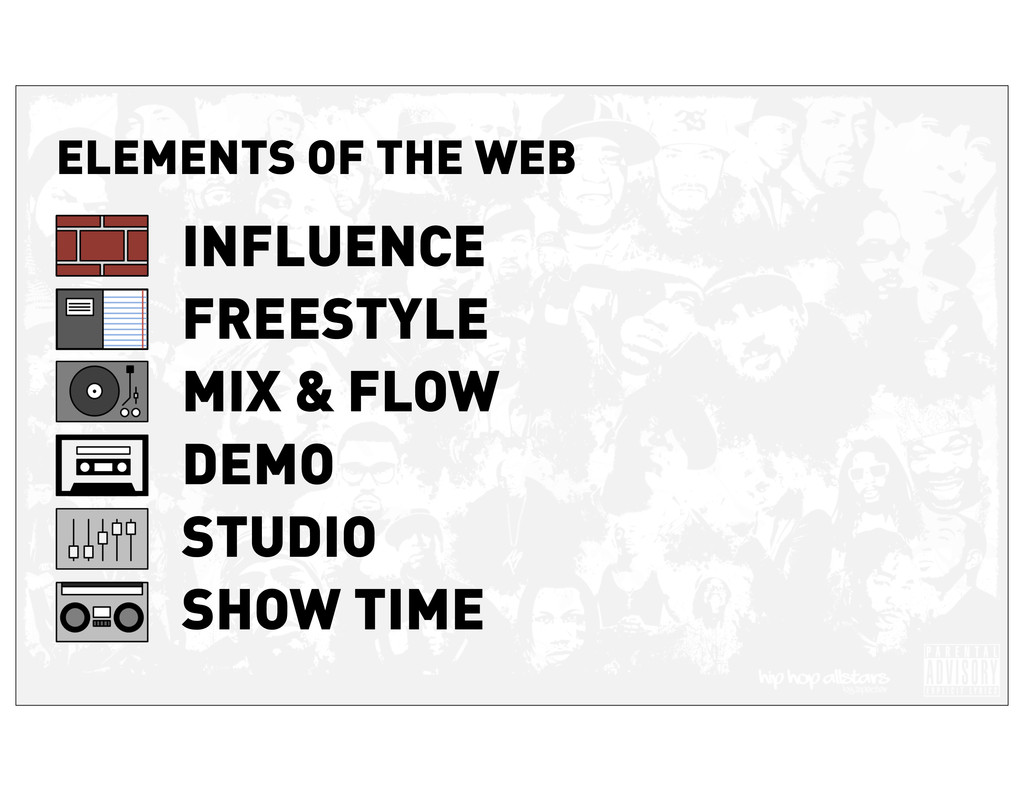 ELEMENTS OF THE WEB INFLUENCE FREESTYLE MIX & F...