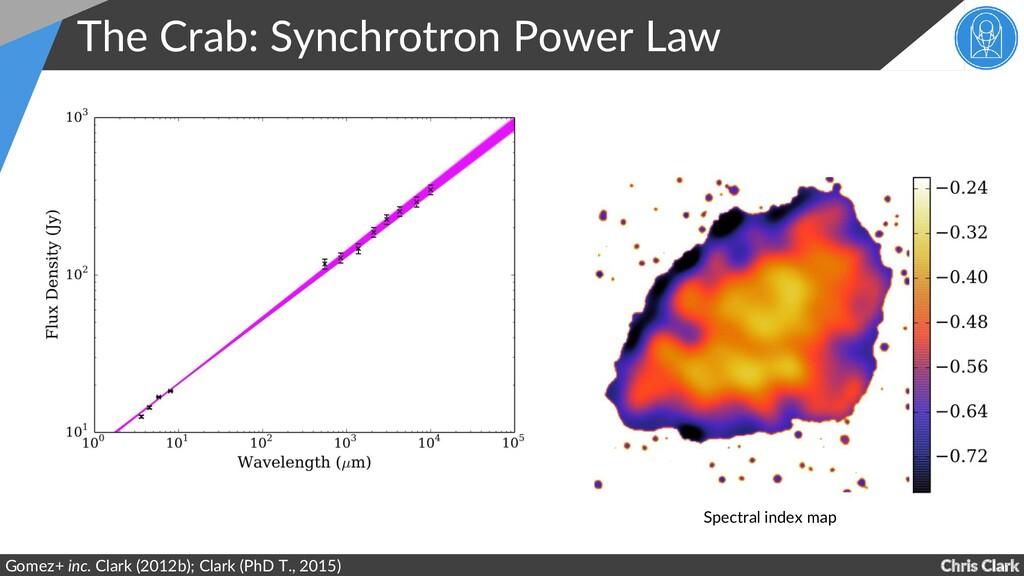 Chris Clark The Crab: Synchrotron Power Law Gom...