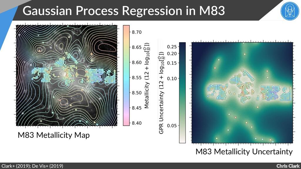 Chris Clark Gaussian Process Regression in M83 ...