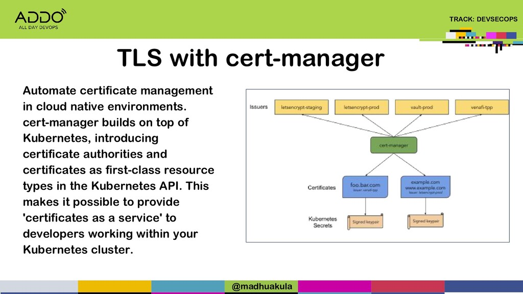 TRACK: DEVSECOPS TLS with cert-manager Automate...