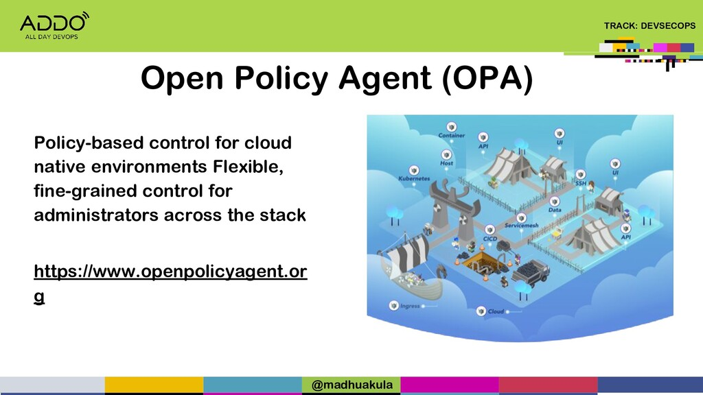 TRACK: DEVSECOPS Open Policy Agent (OPA) Policy...