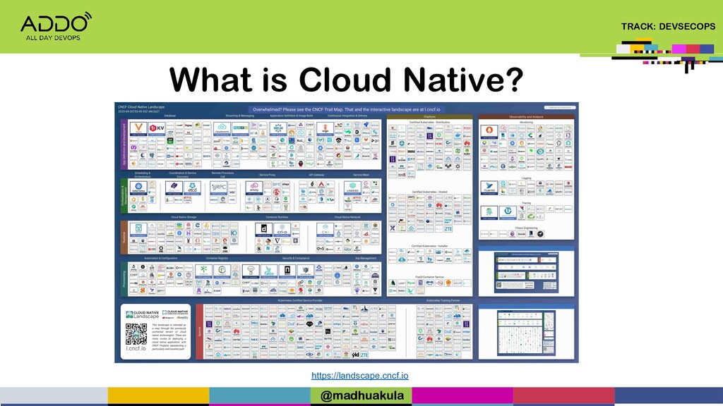 TRACK: DEVSECOPS What is Cloud Native? https://...