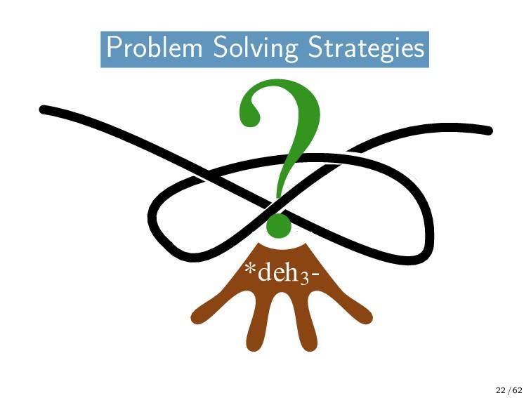 Problem Solving Problem Solving Strategies *deh...
