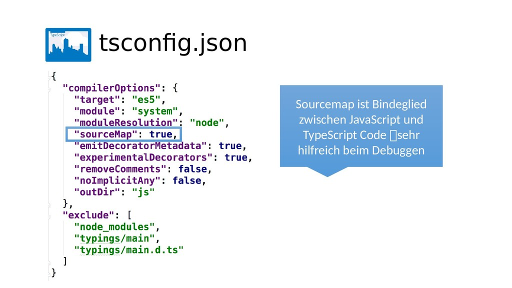 Sourcemap ist Bindeglied zwischen JavaScript un...