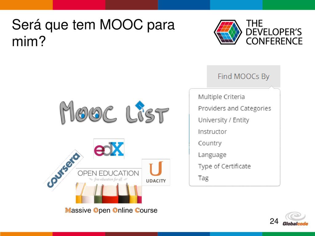 Globalcode – Open4education Será que tem MOOC p...