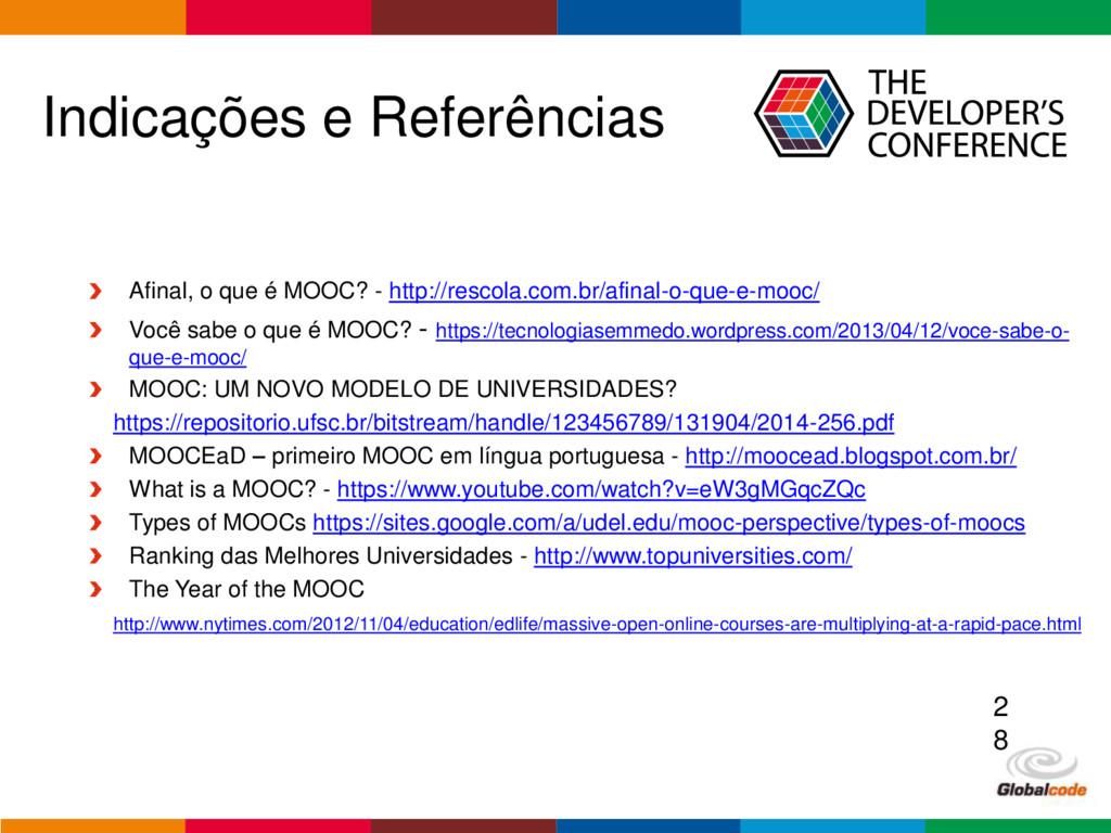 Globalcode – Open4education Indicações e Referê...