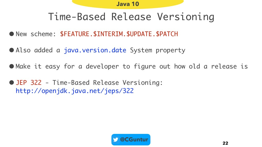 @CGuntur Time-Based Release Versioning • New sc...