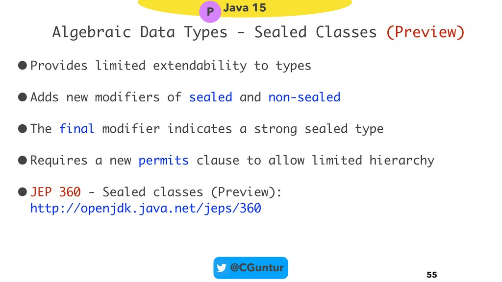 @CGuntur Algebraic Data Types - Sealed Classes ...