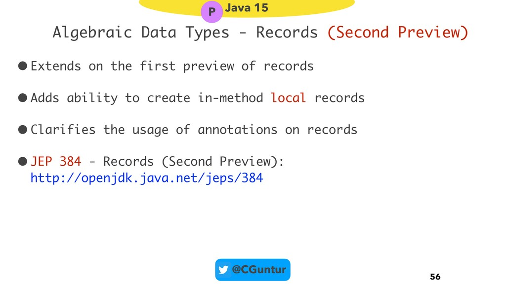 @CGuntur Algebraic Data Types - Records (Second...