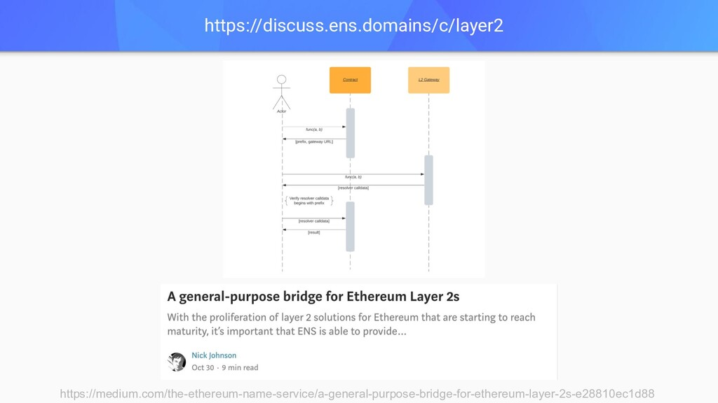 https://discuss.ens.domains/c/layer2 https://me...