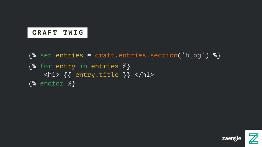 {% set entries = craft.entries.section('blog') ...