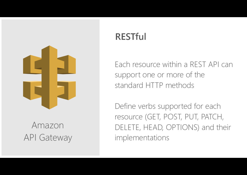 Amazon API Gateway Each resource within a REST ...