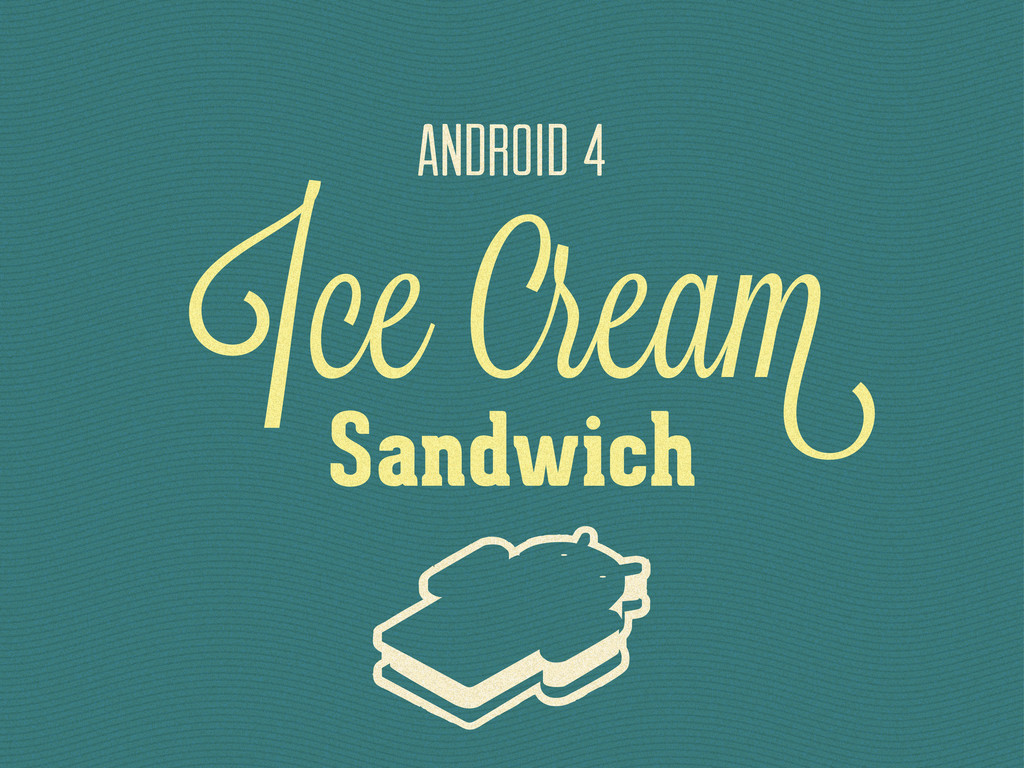 Ice rea ANDROID 4 Sandwich
