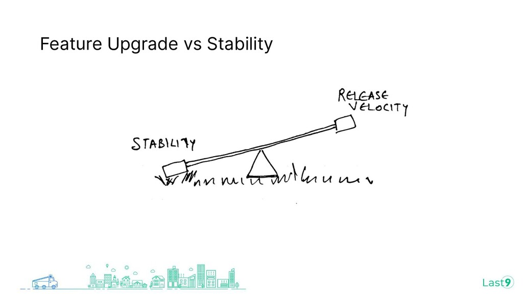 Feature Upgrade vs Stability