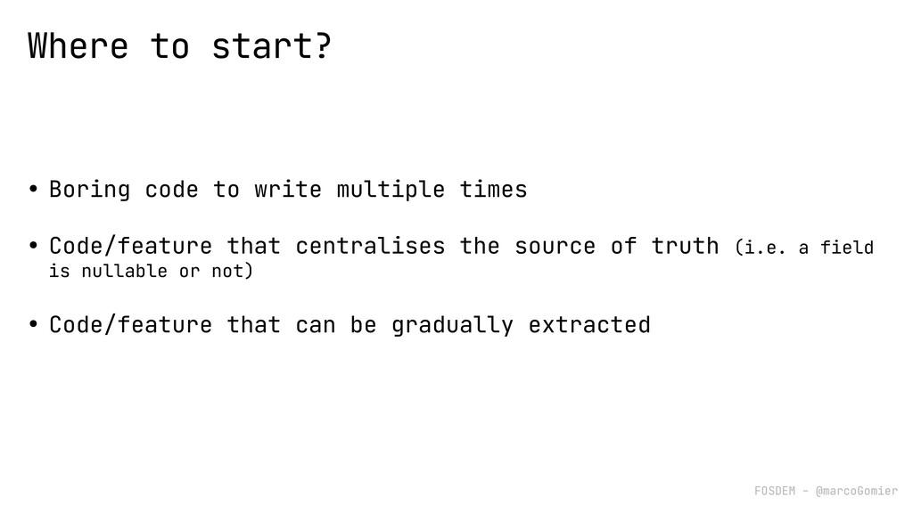FOSDEM - @marcoGomier • Boring code to write mu...