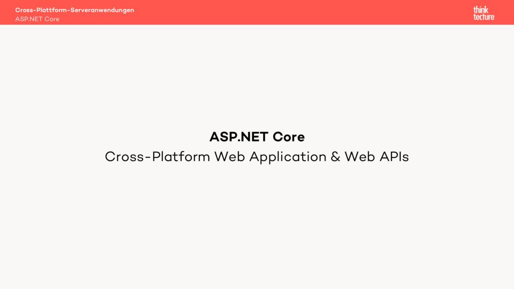 Cross-Platform Web Application & Web APIs Cross...