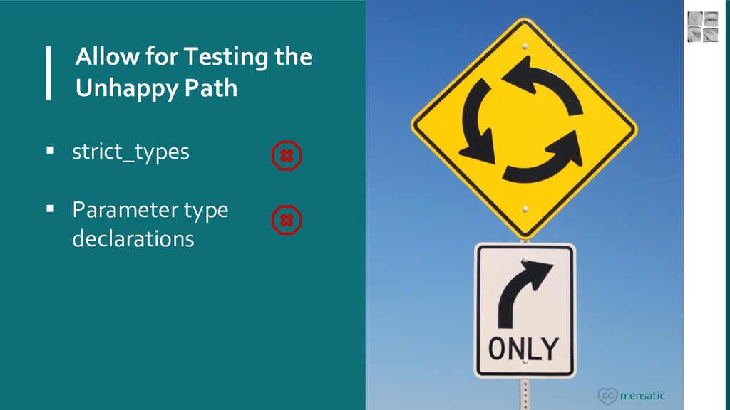 Allow for Testing the Unhappy Path  strict_typ...