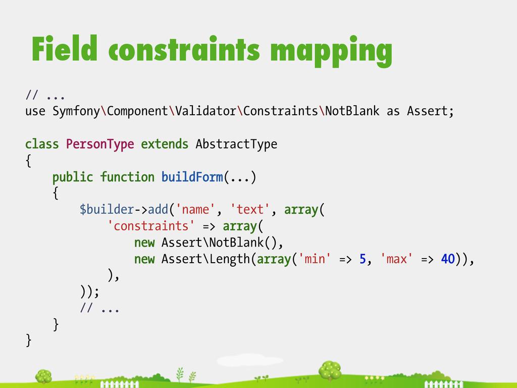 // ... use Symfony\Component\Validator\Constrai...