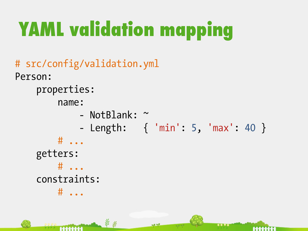 # src/config/validation.yml Person: properties:...